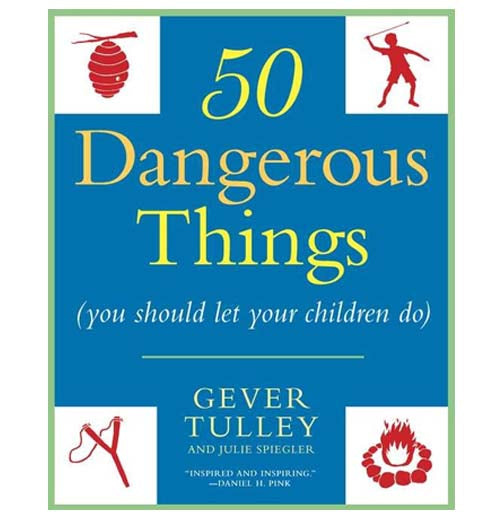 50 Dangerous Things: You Should Let Your Children Do by Gever Tulley and Julia Spiegler