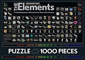 The Elements Puzzle: 1000 Pieces