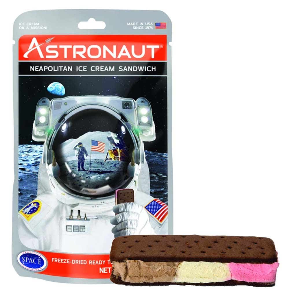 Freeze-Dried Neapolitan Ice Cream Sandwich