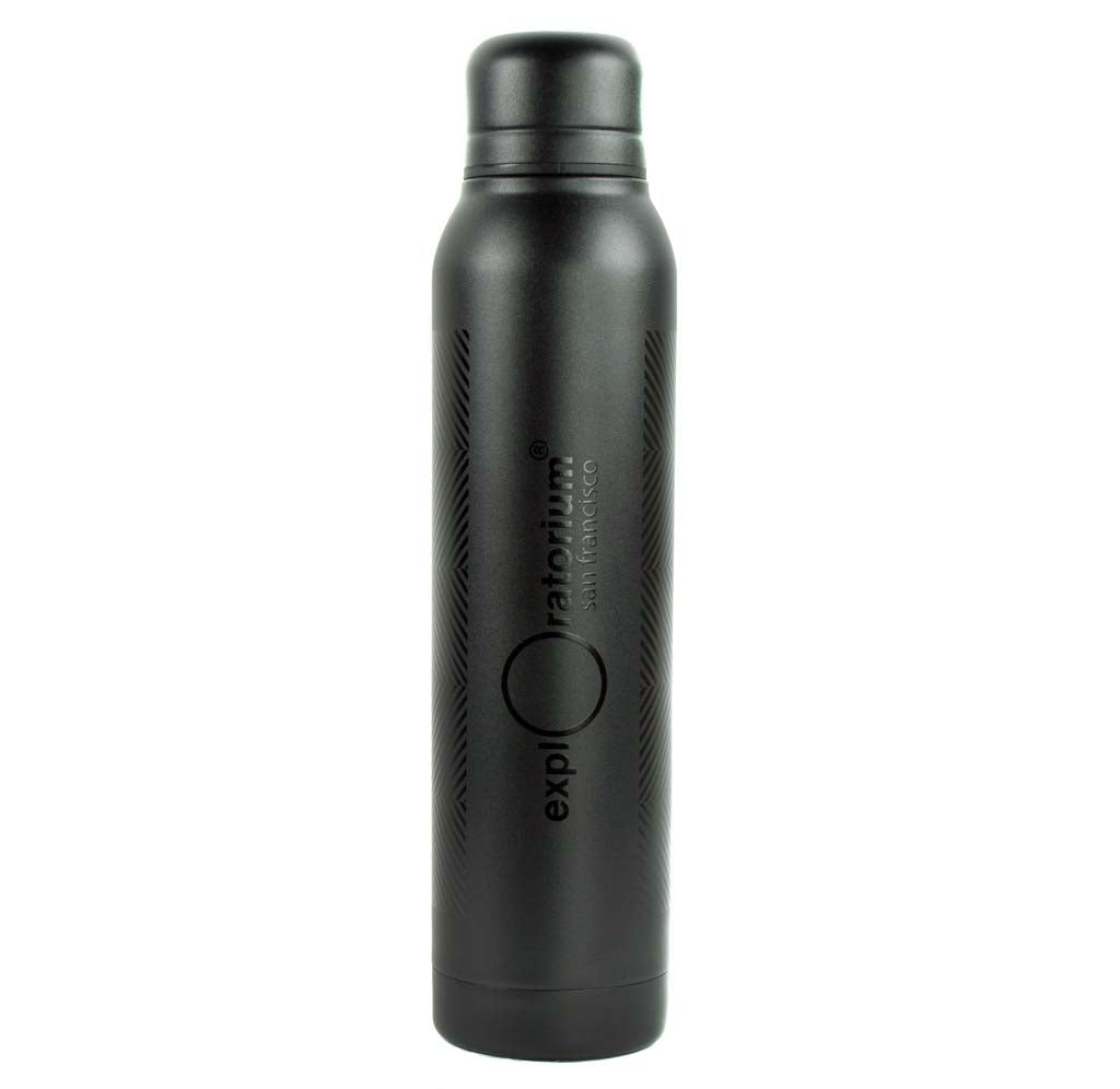 Exploratorium Double Diamond Optical Illusion Insulated Water Bottle
