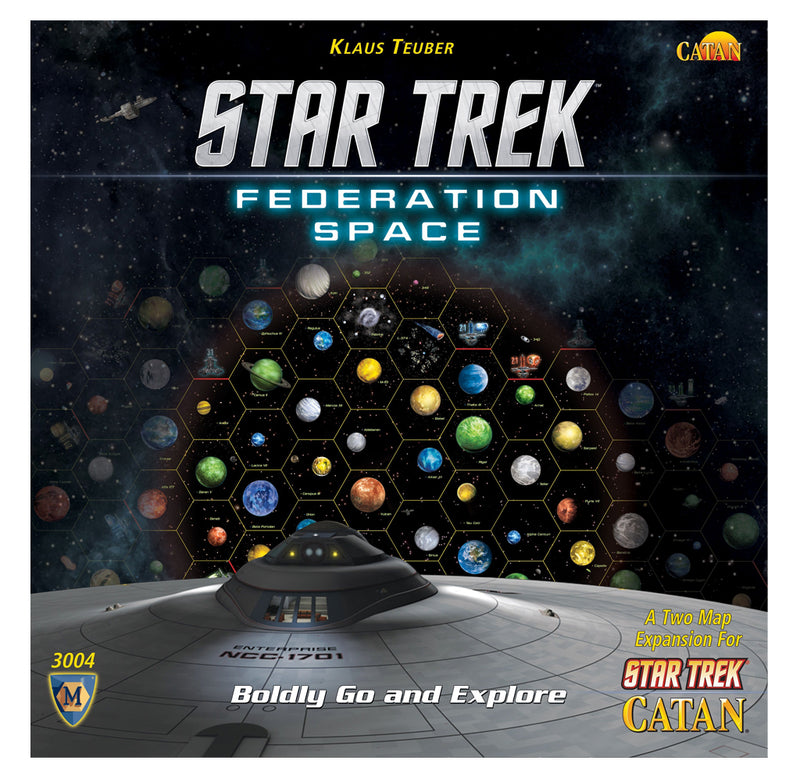 Star Trek Federation Space: A Two Map Expansion for Star Trek Catan
