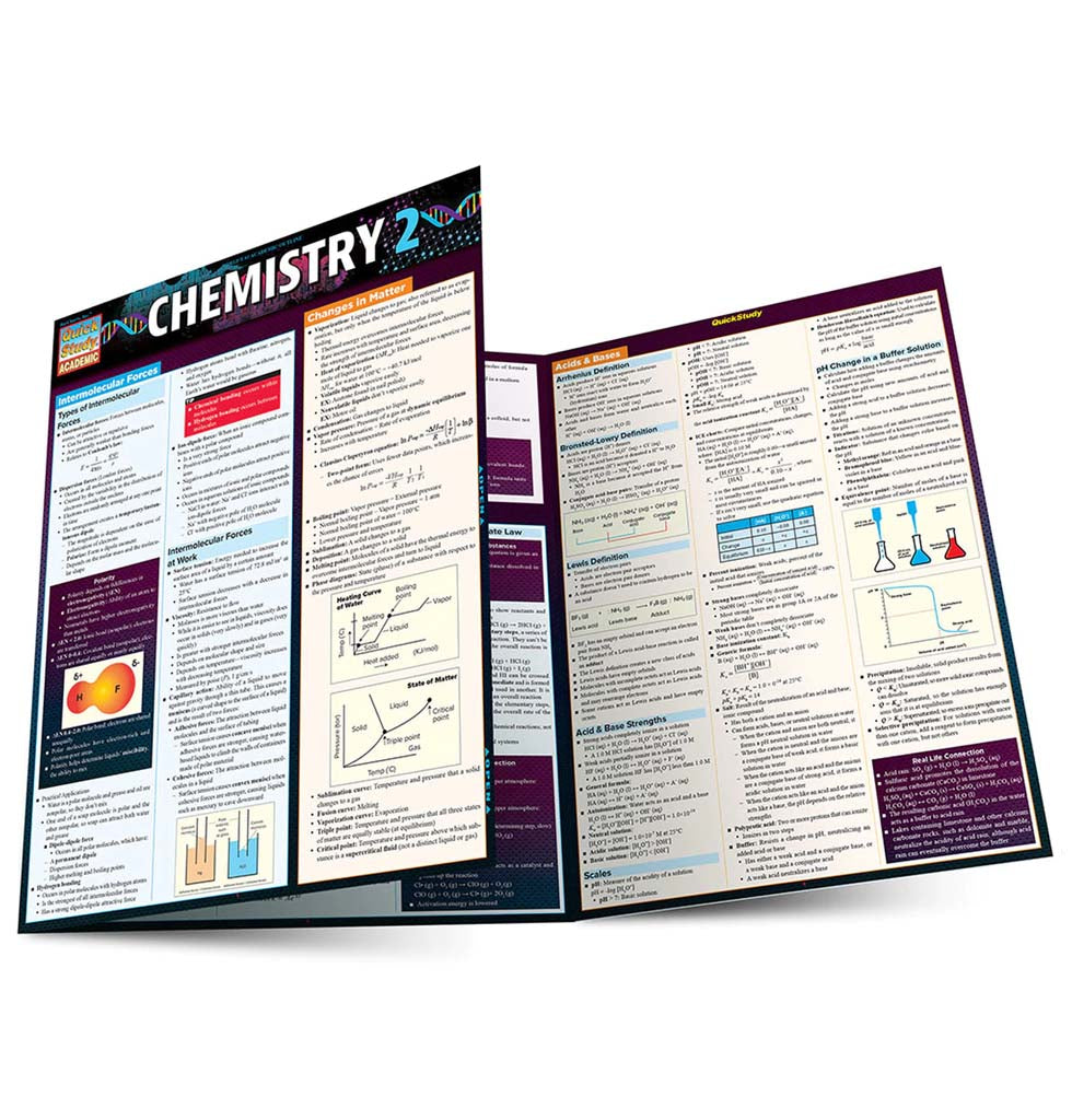 Chemistry 2 QuickStudy Guide