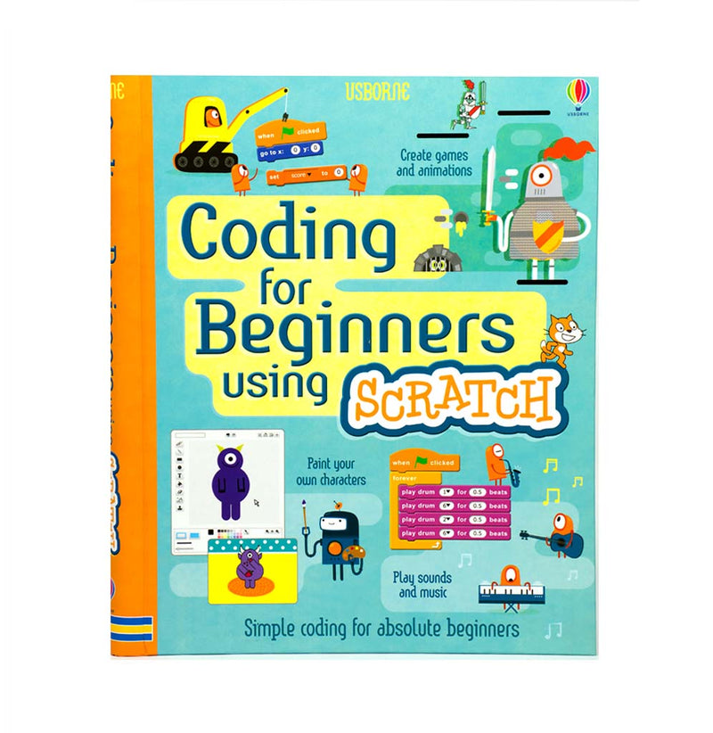 Coding for Beginners Using Scratch by Rosie Dickens
