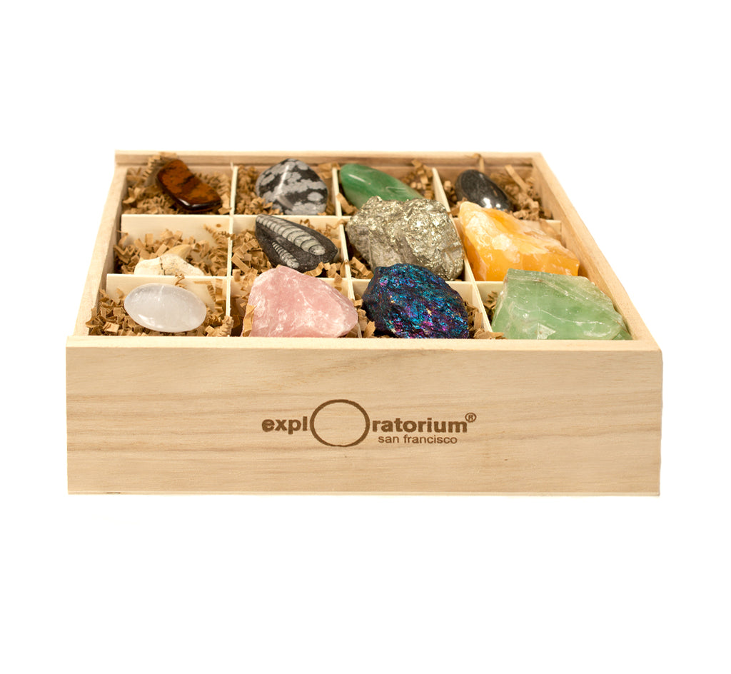 Exploratorium Mineral Collection Box