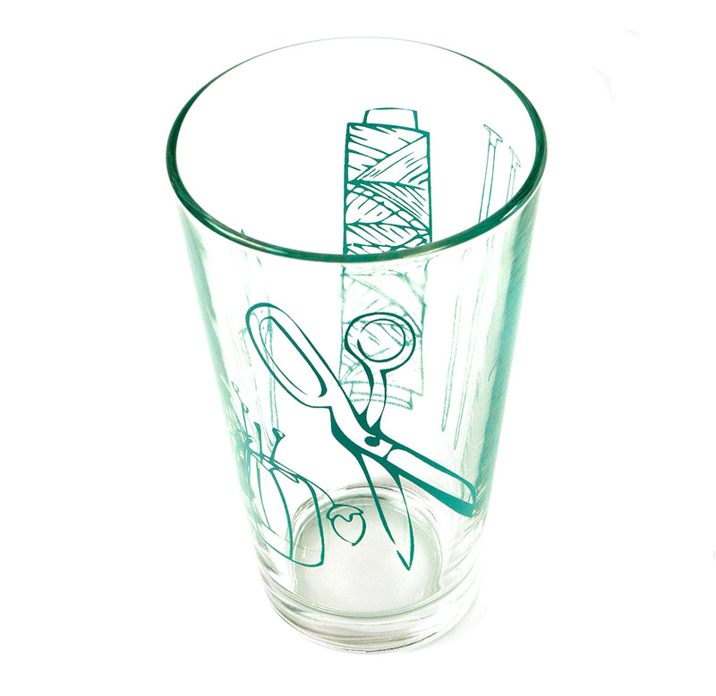 Crafty Tools Pint Glass