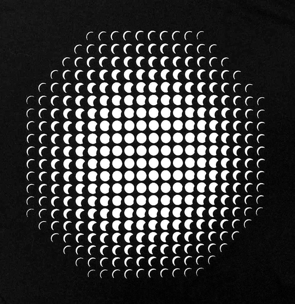 Exploratorium Eclipse Optical Illusion T-Shirt