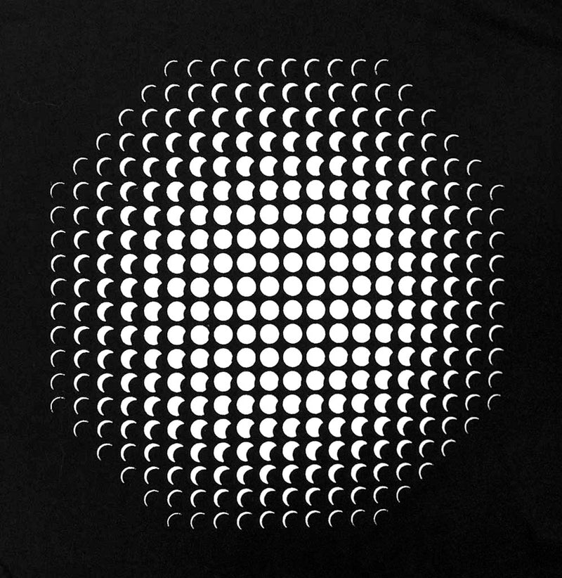 Exploratorium Eclipse Optical Illusion Unisex T-Shirt