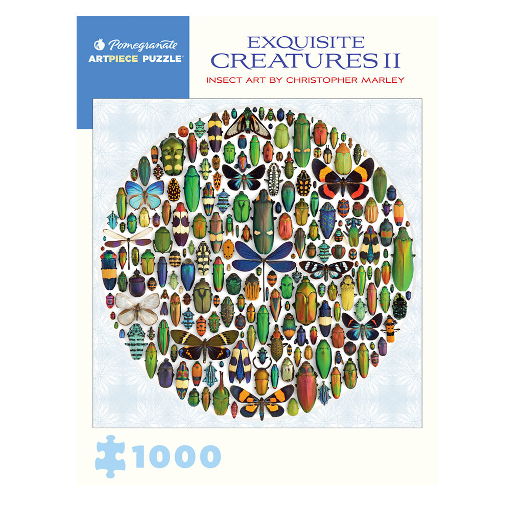 Exquisite Creatures II 1000 Piece Puzzle