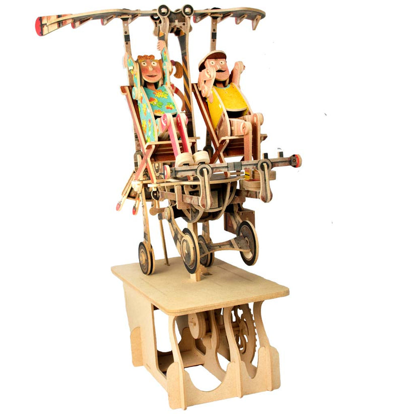 Keith Newstead's Junk Air Automata