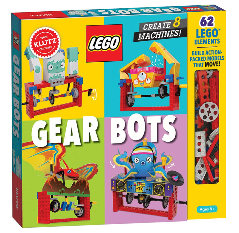 Klutz: Gear Bots: Create 8 Machines