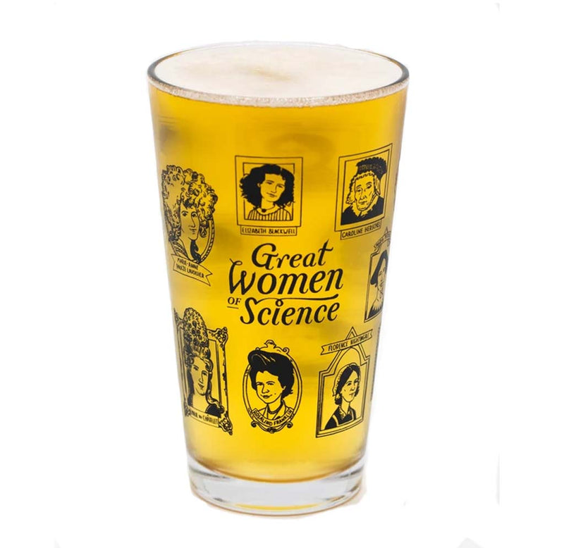 Great Women in Science Pint Glass