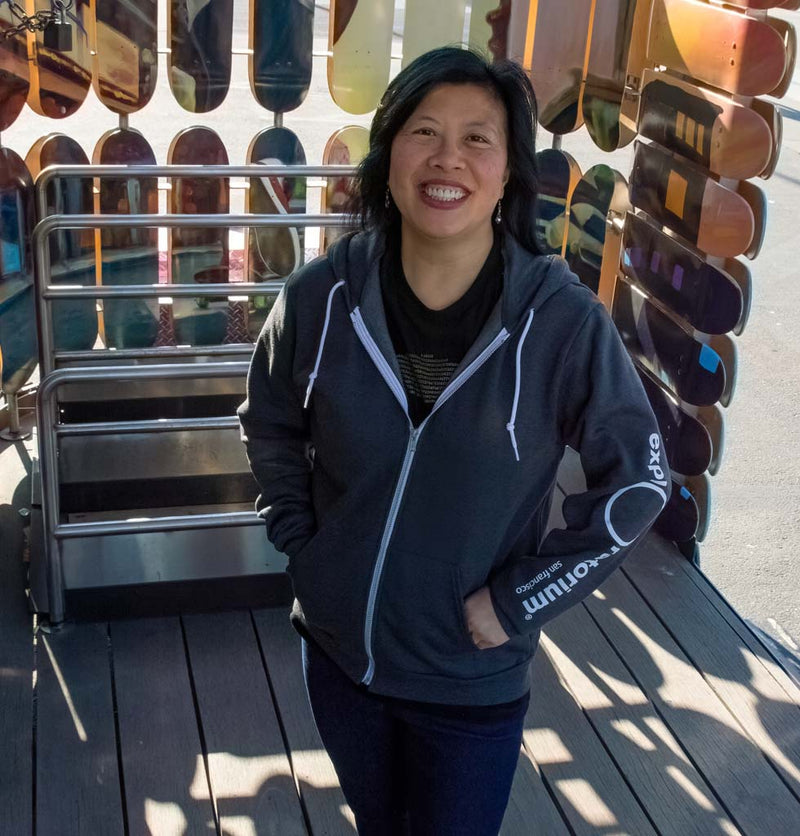 Exploratorium Hooded Fleece Jacket Adult