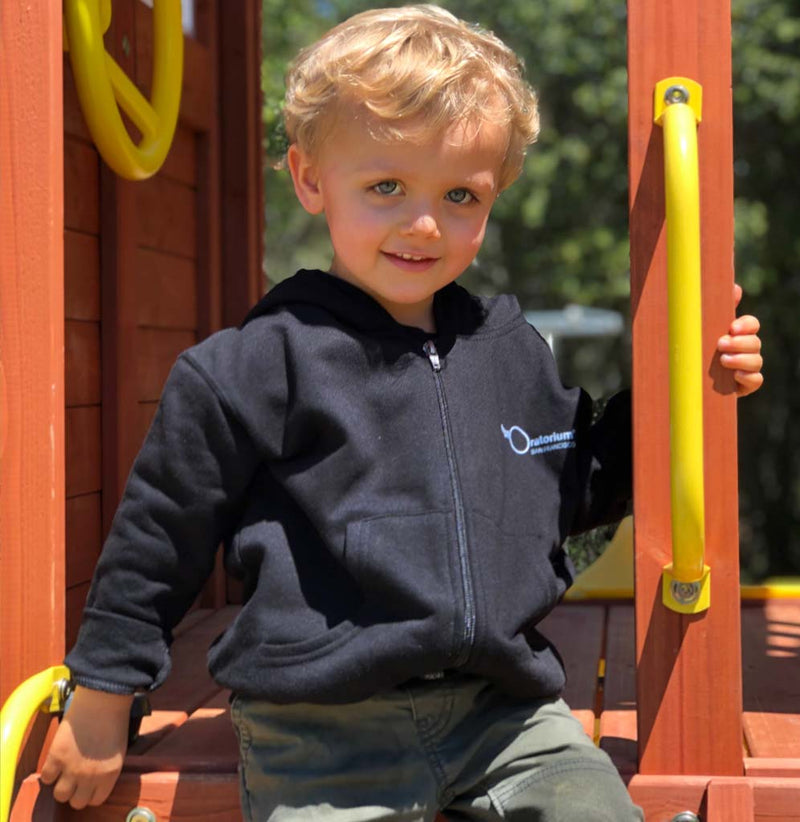Exploratorium Hooded Fleece Jacket Toddler