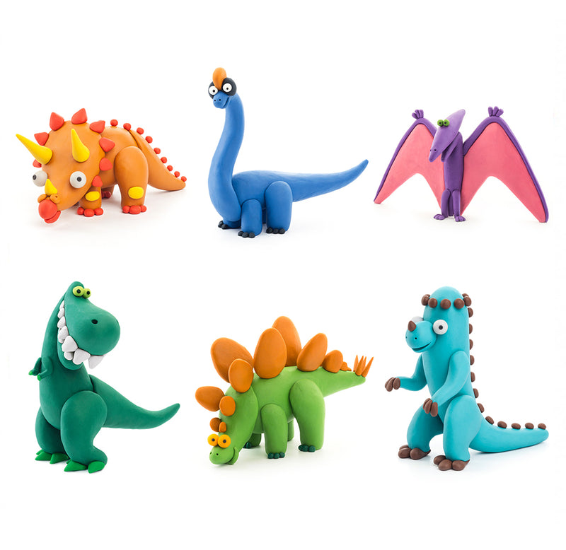 Dinosaurs Clay Set