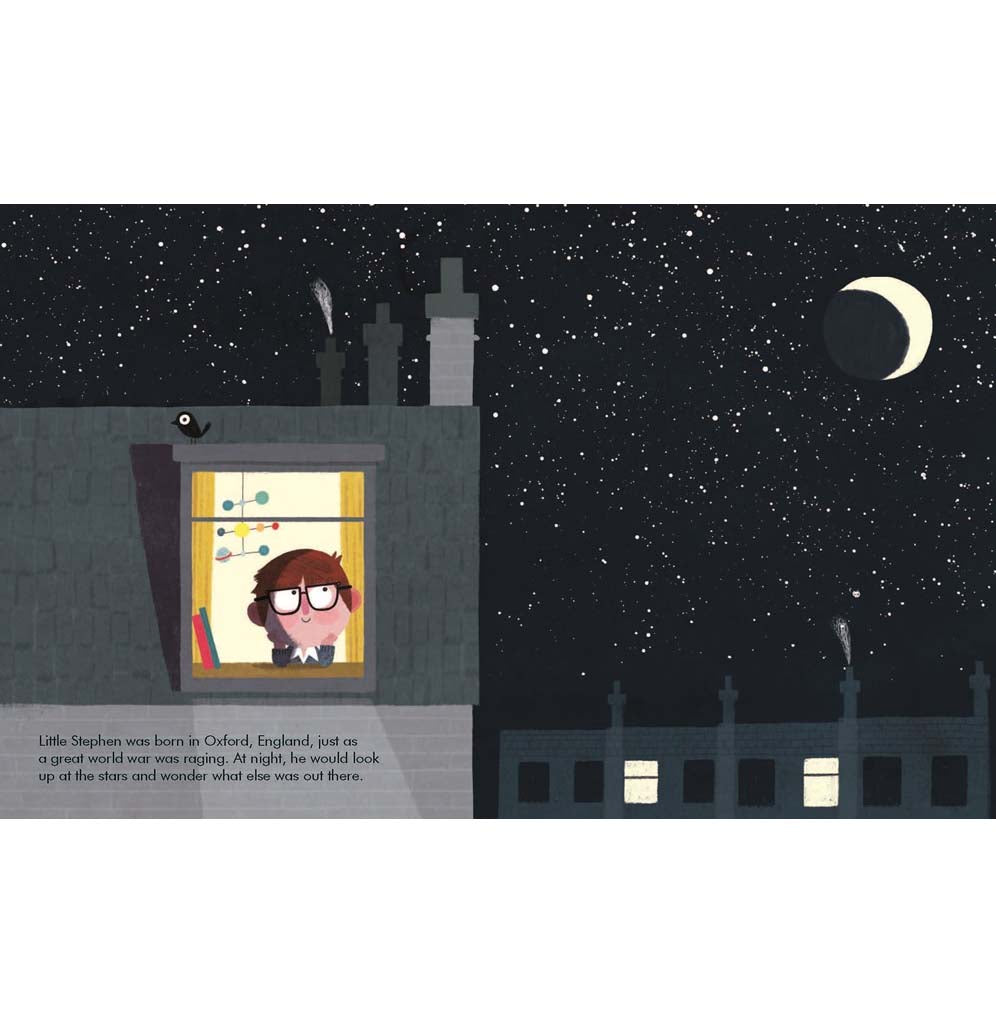 Little People, Big Dreams Stephen Hawking by  Maria Isabel Sánchez Vegara