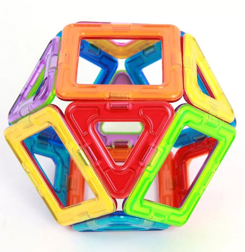 Magformers Rainbow Colors - 14 Piece Set