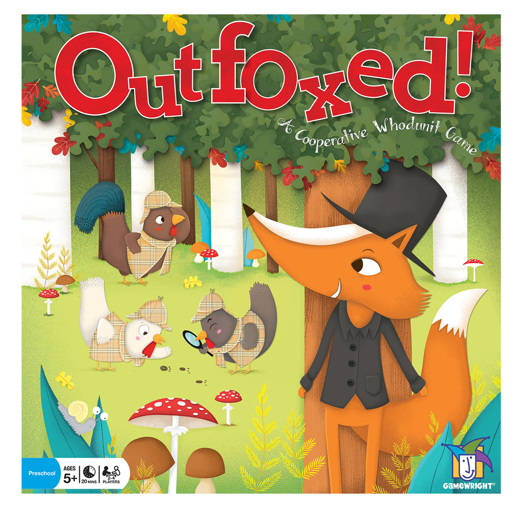 Outfoxed!: A Cooperative Whodunit Game
