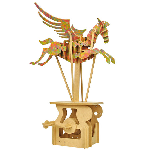 Keith Newstead's Pegasus Automata Wooden Kit