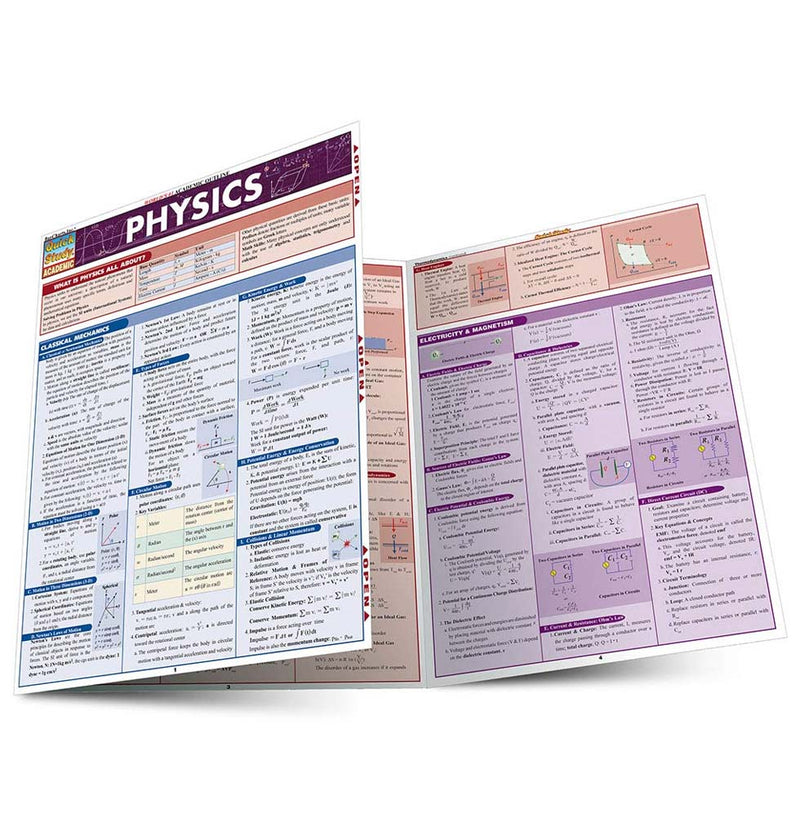 Physics QuickStudy Guide