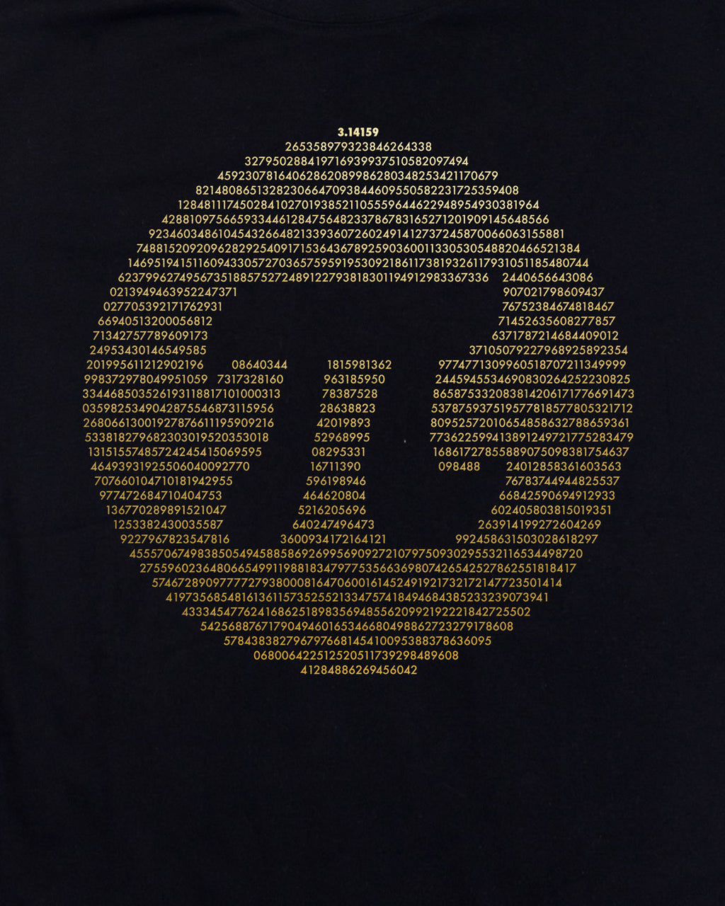 Exploratorium Pi T-Shirt (Men's)