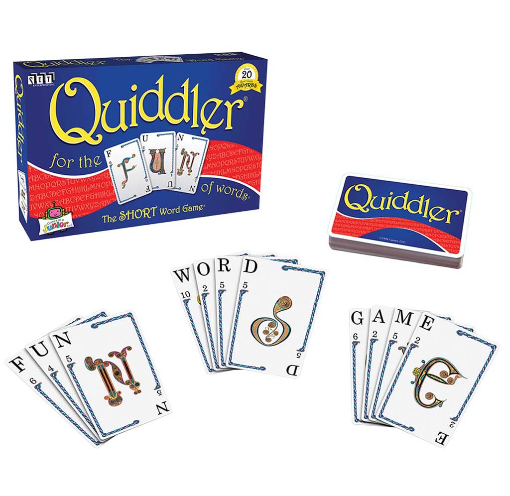 Quiddler Word Game