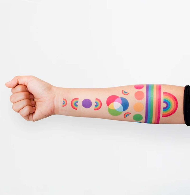 Tatoo Rainbow Set