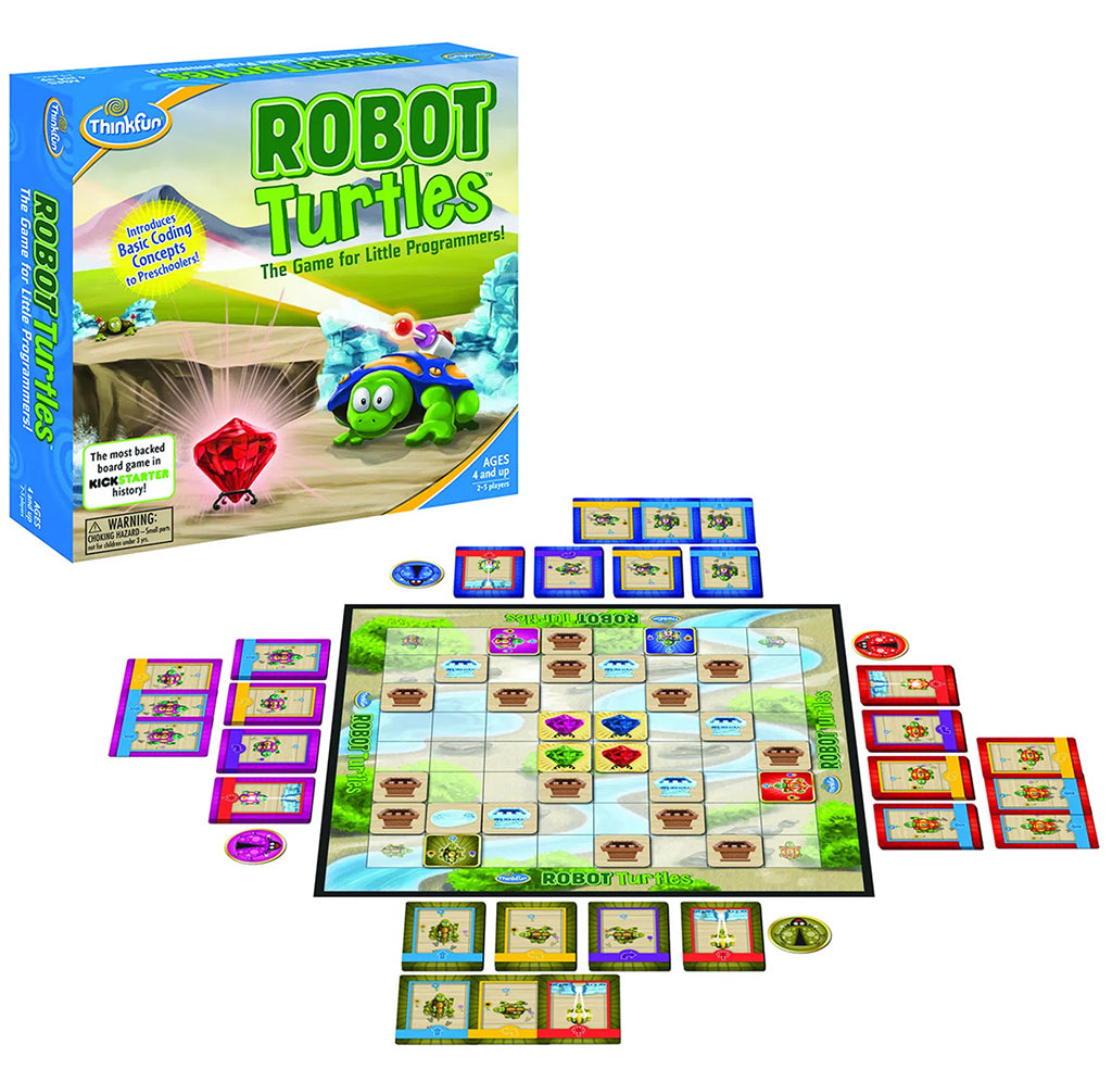 Robot Turtles: A Coding Board Game