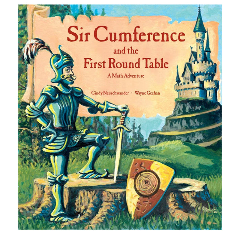 Sir Cumference Math Adventure Books by Cindy Neuschwander