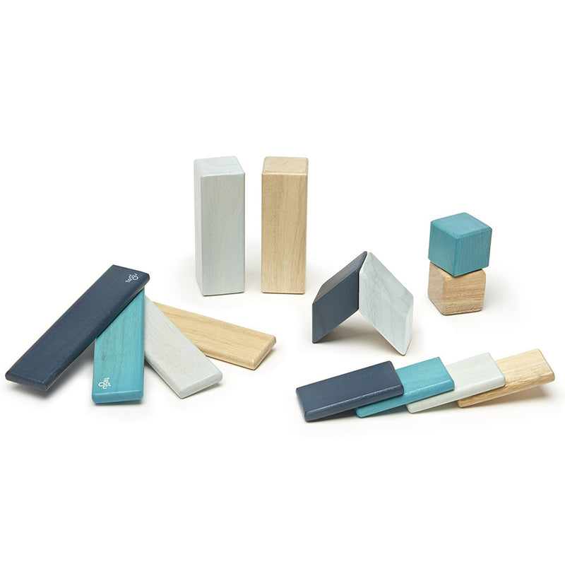 Tegu Classic Blocks in Blue