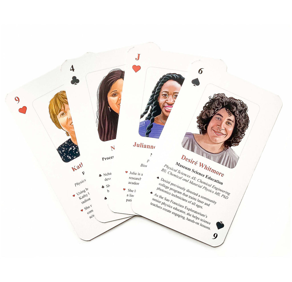 Across the Spectrum: Women & Gender Minorities in Physics Careers Playing Cards