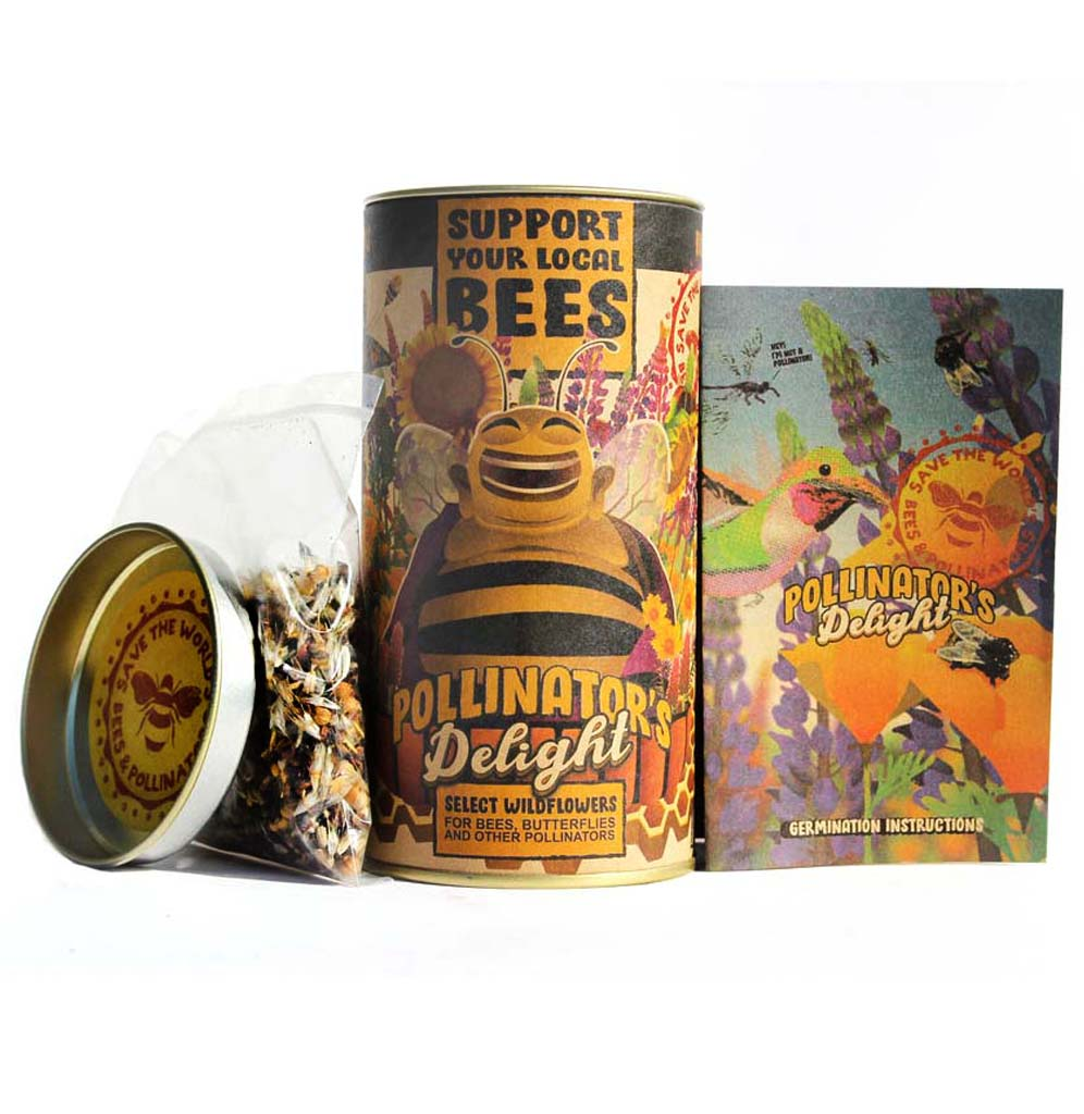 Pollinator's Delight Flower Seed Grow Kit