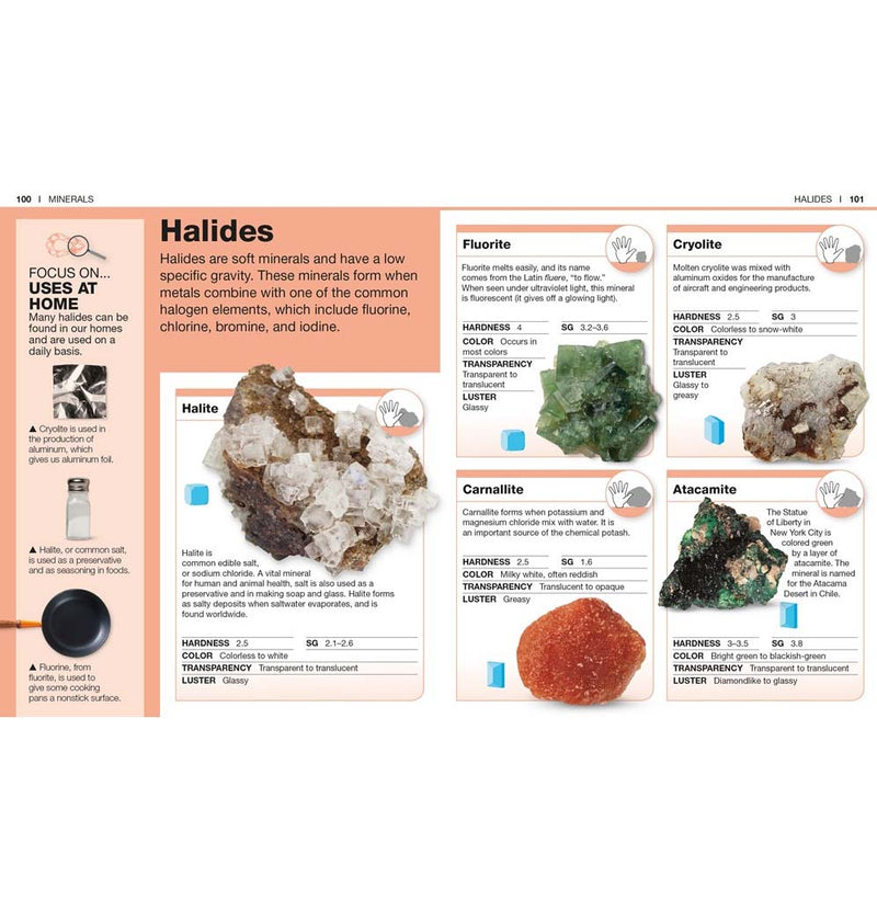 Pocket Genius: Rock and Minerals: Facts at Your Fingertips