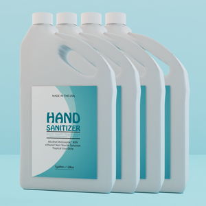 LIQUID HAND SANITIZER 1 GALLON JUG(PACK OF 4 GALLONS)