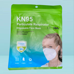 Pack of 5 KN95 Protective Face Masks