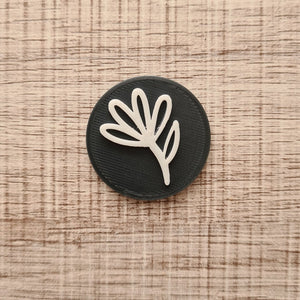 Boho Flower 01 - Polymer Clay Stamp