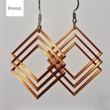 Load image into Gallery viewer, 3D Stacked - Earrings Set