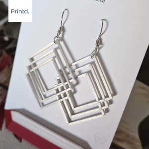 3D Stacked - Earrings Set