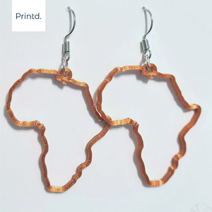 Africa Frame - Earrings