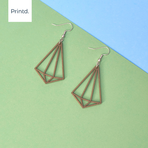 Diamond Shape - Earrings