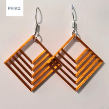 Load image into Gallery viewer, Gentle Squares Earrings
