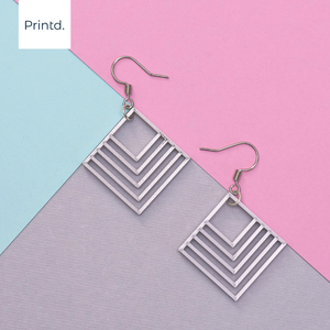 Gentle Squares Earrings