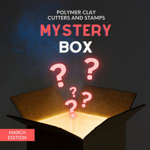 Polymer Clay Cutter Mystery Box - March Edition
