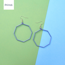 Load image into Gallery viewer, Octagon Frame - Set of Earrings