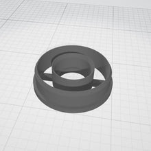 Load image into Gallery viewer, Donut Round 01 - Polymer Clay Cutter