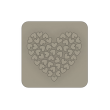 Load image into Gallery viewer, Heart 01 - Polymer Clay Stamp