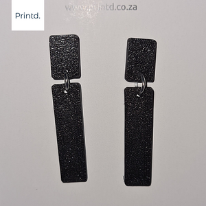 Strip and Stud 01 - Earrings