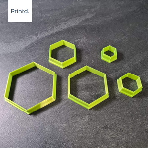 Hexagon - Polymer Clay Cutters