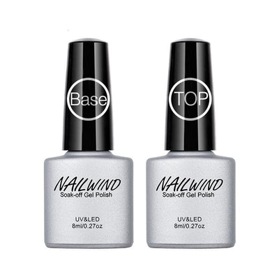 Base & Top Coat Bio-Sourcé - NailWind Paris