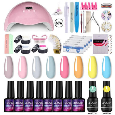 Kit Manucure Professionnel Complet - Kit Pro NailWind Paris