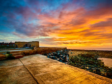 Load image into Gallery viewer, Beadnell Limekilns at Sunrise, Northumberland coast